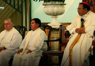 Misa de despedida del Pbro. Javier como rector de la Catedral de Tepic.