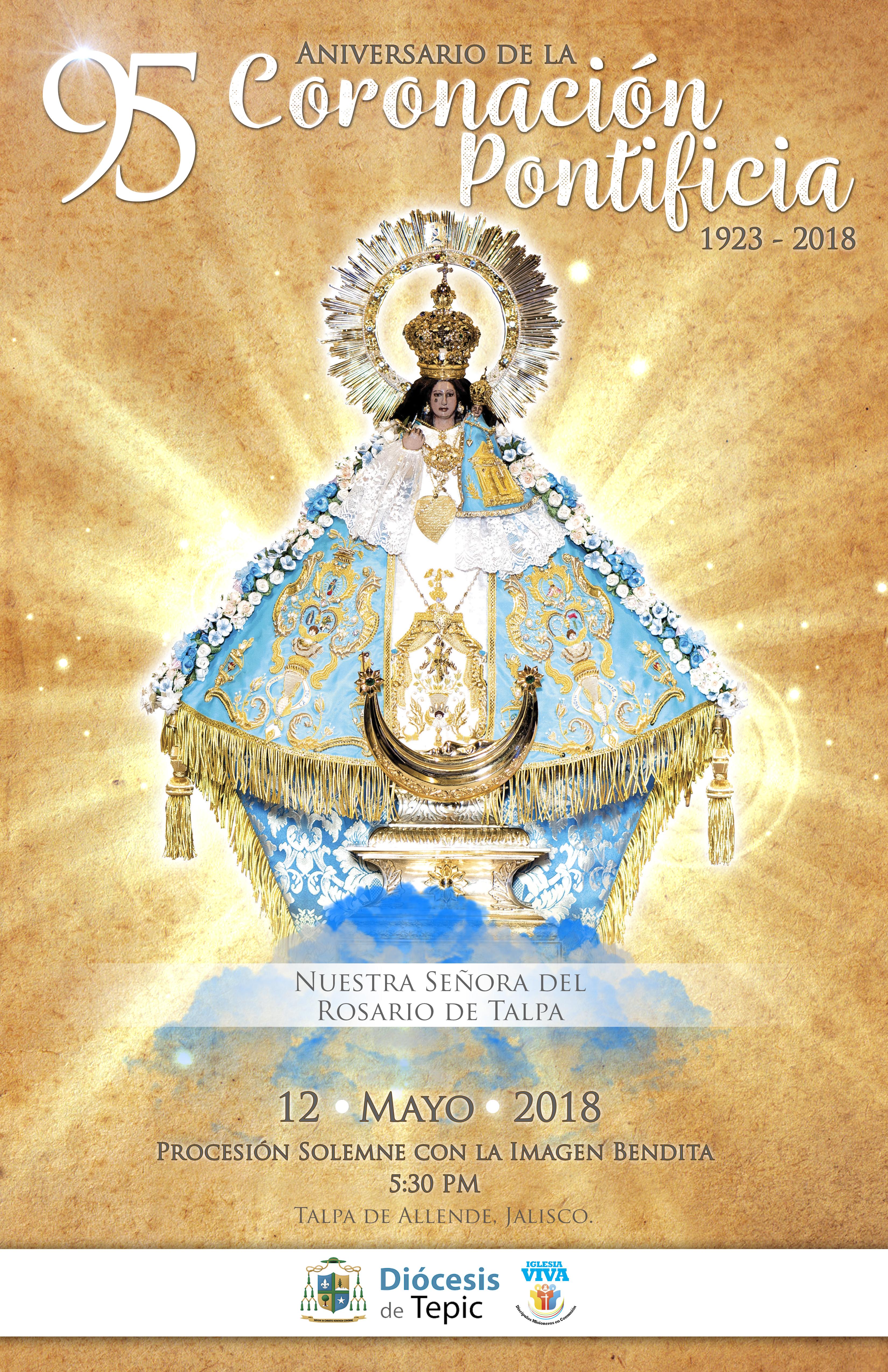 95 Aniversario de la Coronación Pontificia | Ntra. Sra. del Rosario de Talpa