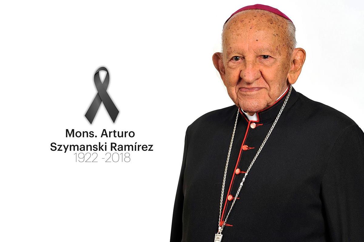 Comunicado de fallecimiento de Mons. Arturo Szymanski Ramírez