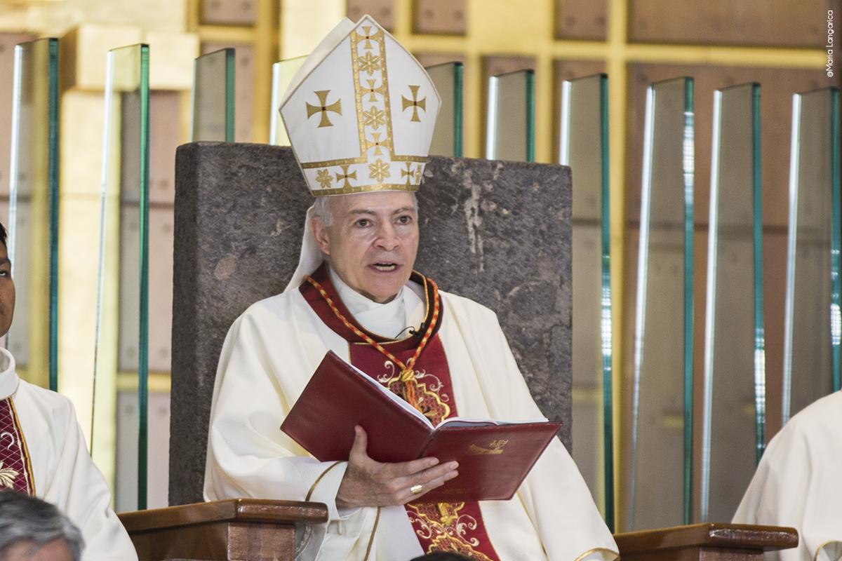Homilía pronunciada por el Card. Aguiar en la Peregrinación de la Diócesis de Tepic a la Basílica de Guadalupe