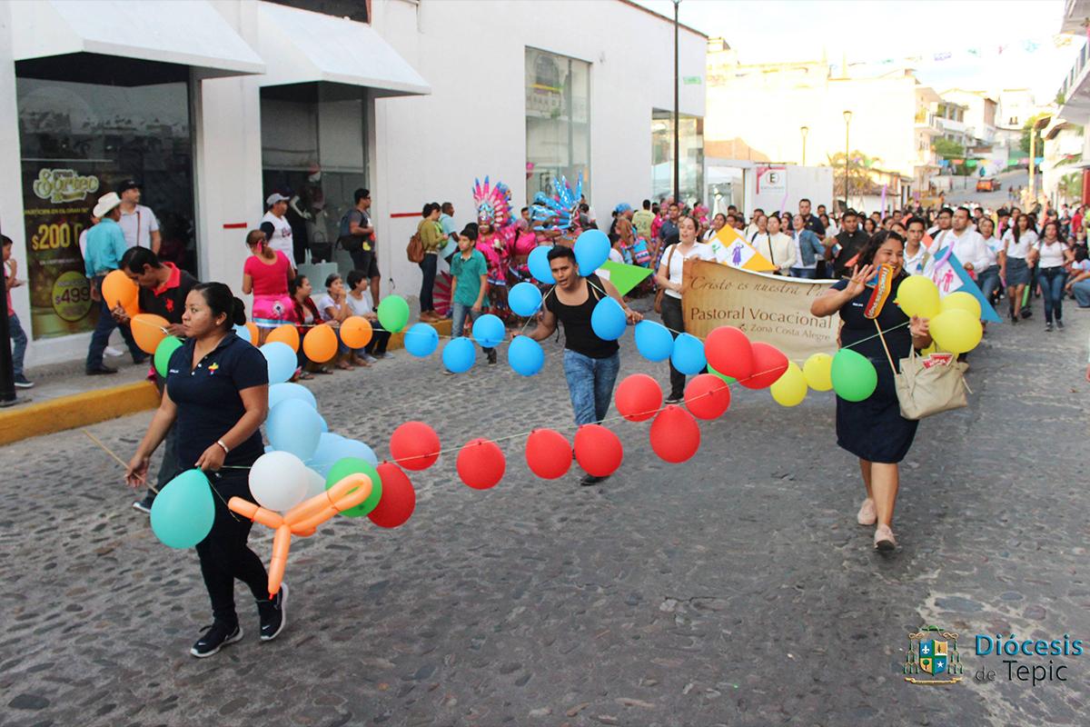 Inician las fiestas guadalupanas en Puerto Vallarta, Jalisco