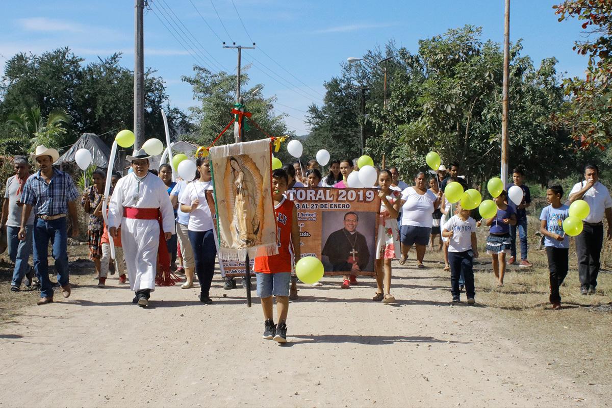 SALTEN DE ALEGRES Y CONTENTOS | Visita Pastoral a Rosamorada, Nayarit