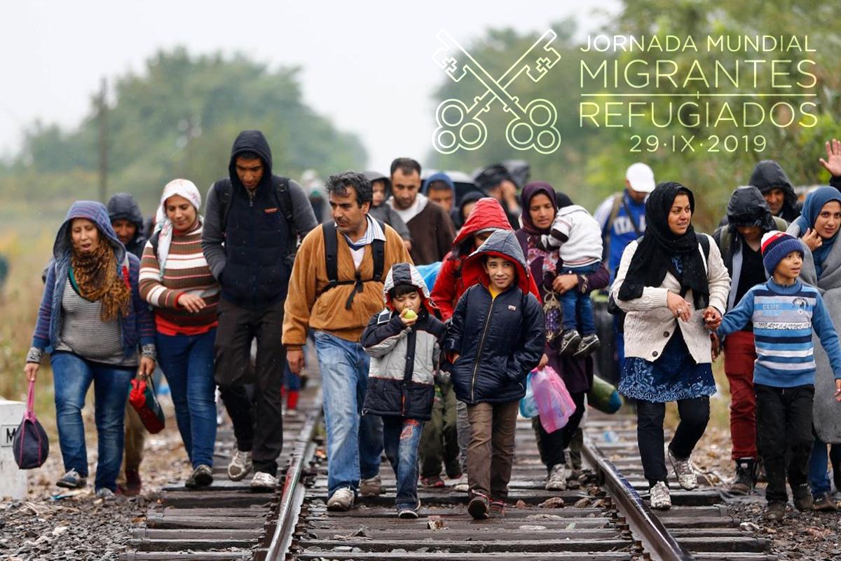 La Jornada Mundial del Migrante y del Refugiado será el 29 de septiembre