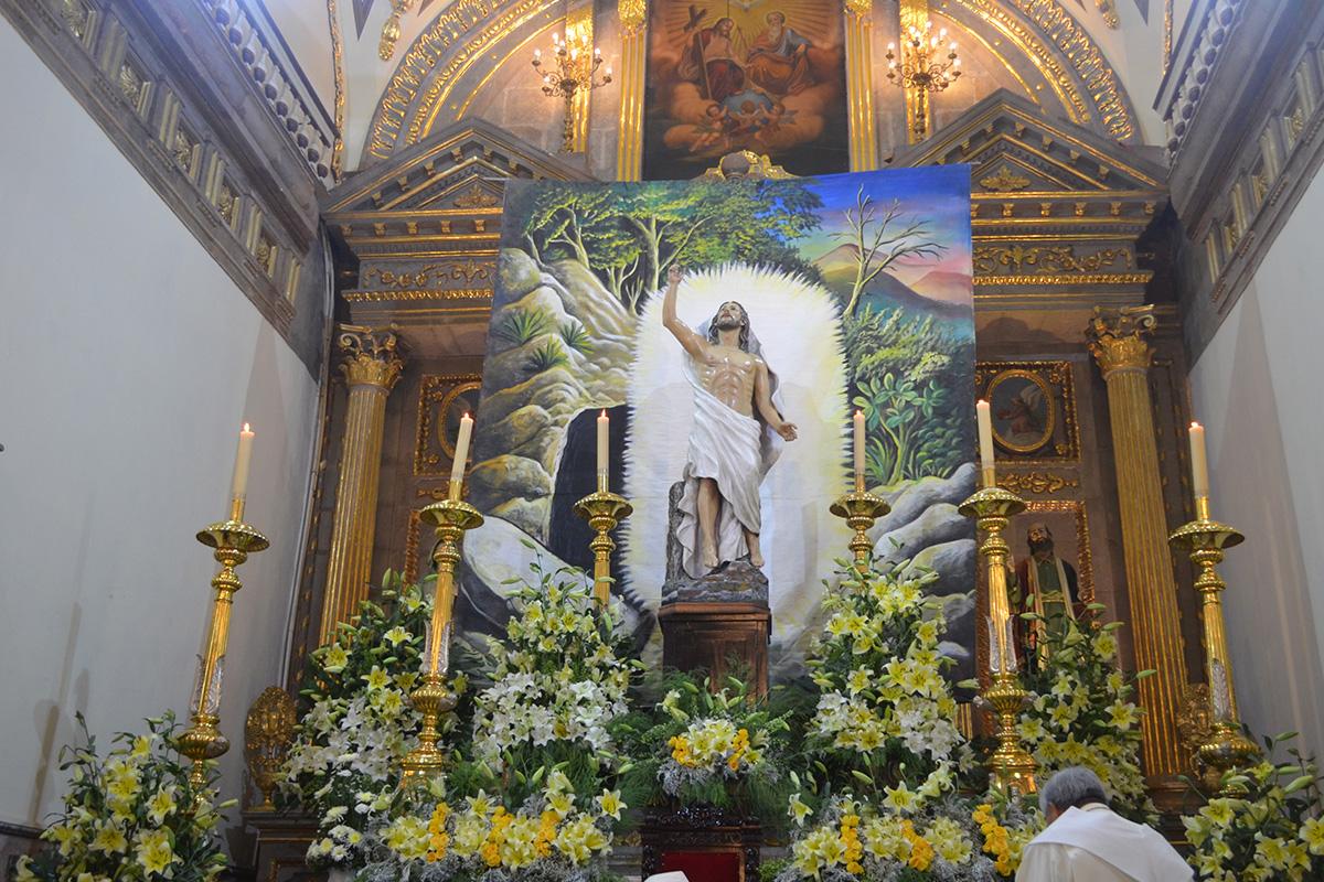 Semana Santa en el Santuario de Nuestra Señora del Rosario de Talpa